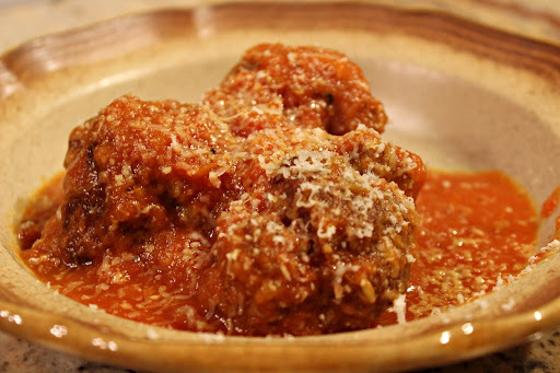 Meatballs in Sweet Pepper Sauce