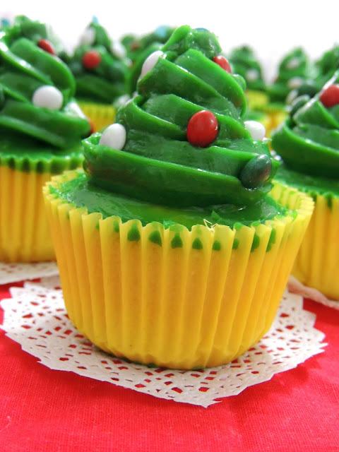 Cupcakes navideños ❅