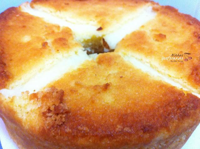 bolo de mandioca ralada crua com leite condensado