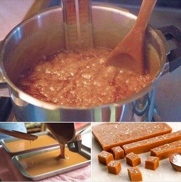 balas de coco carameladas