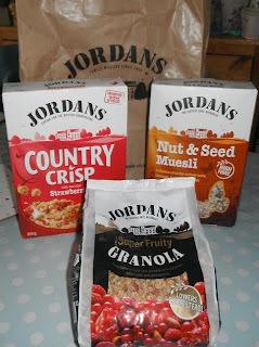 jordans granola bar recipe