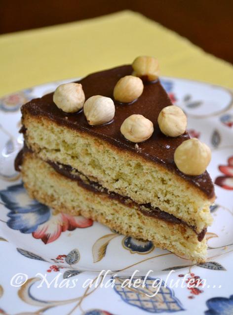 Torta con Nutella (Receta GFCFSF)