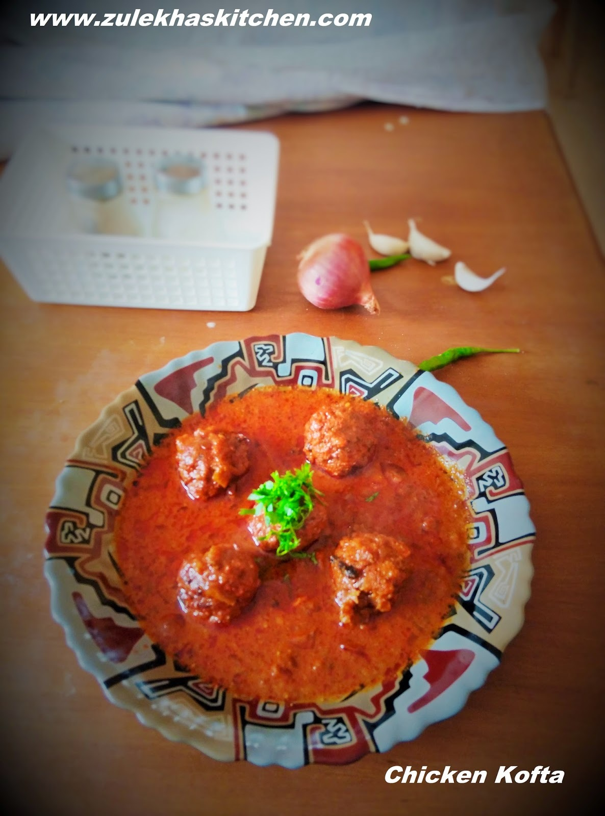 Recipe of chicken kofta