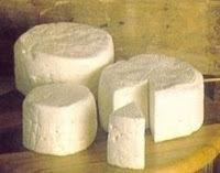 de queijo caseiro com vinagre