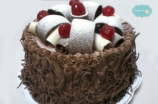 Bolo de Chocolate com Leite Ninho