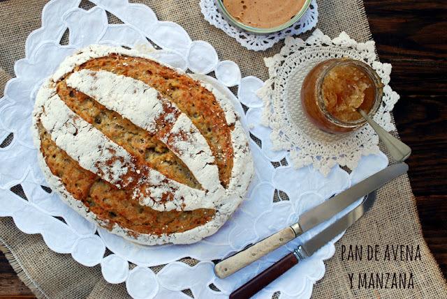 pan de avena y manzana {hecho a mano}