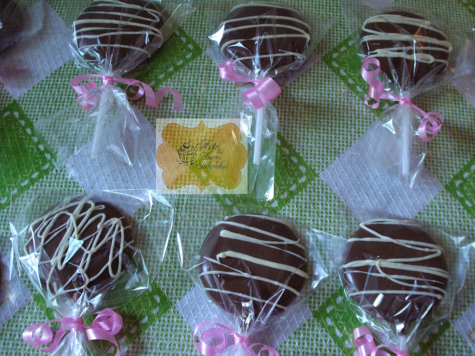 Pirulitos de Chocolate!