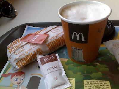 McDonald`s: café da manhã express