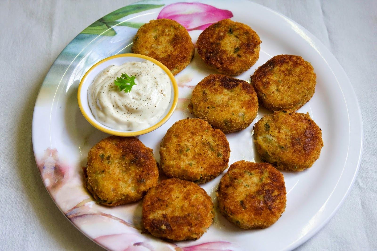 Chilli Potato Cakes