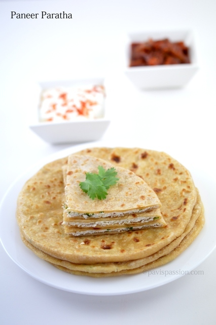 Paneer Paratha Recipes , How to make Paneer Paratha | Paneer Paratha