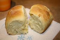 pão amanteigado