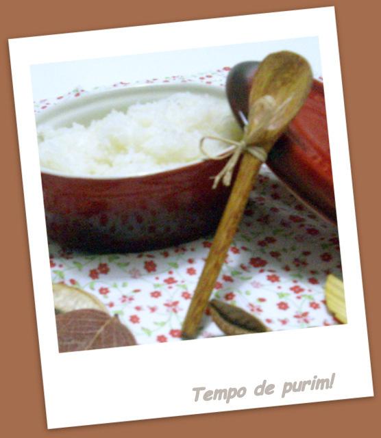 de cocada mole com leite condensado