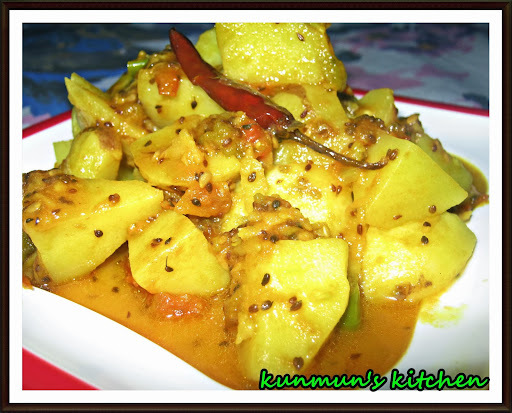 AJWAINI ALOO (POTATO WITH CARROM SEEDS)