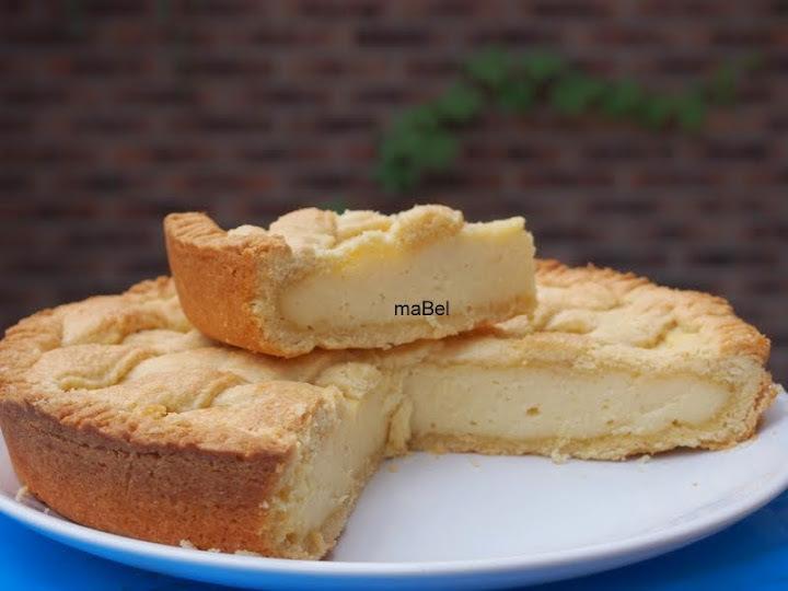Pasta frola de semola - Torta di semolino