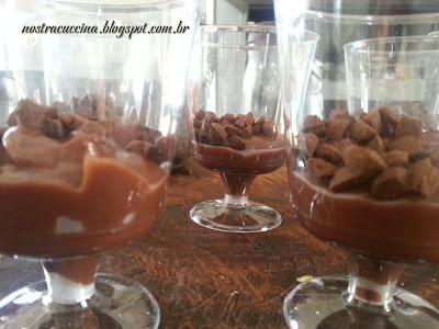como fazer copinho de chocolate para licor