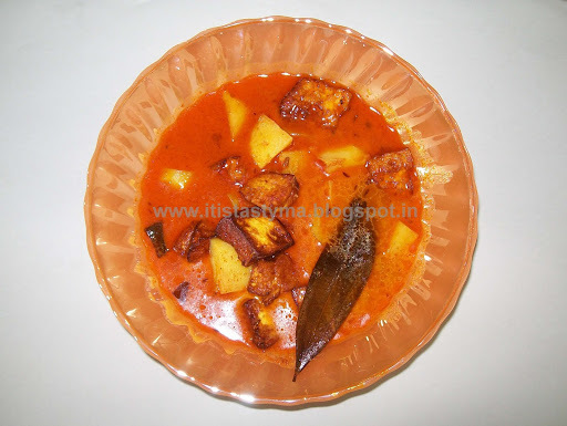 Chhanaar Dalna  or Paneer – Bengali style