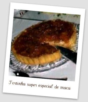 TORTINHA DE MAÇA DA ANA