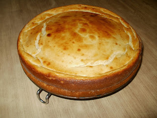 Torta de ricota sin masa