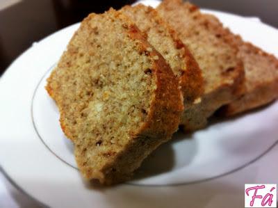 de pão integral caseiro sem farinha branca