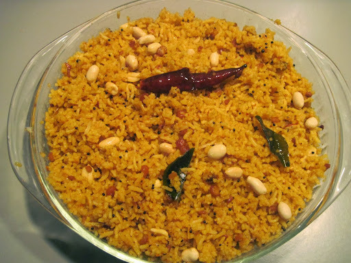 Kovil Puliyodharai - Navarathri Recipes  - Tamarind Rice in Temple Style - Traditional Puliyotharai from Grandmother's Kitchen