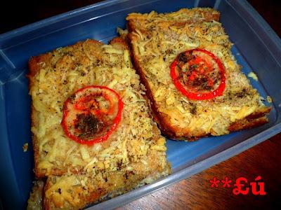 bauru de forno pão de forma sem queijo ralado