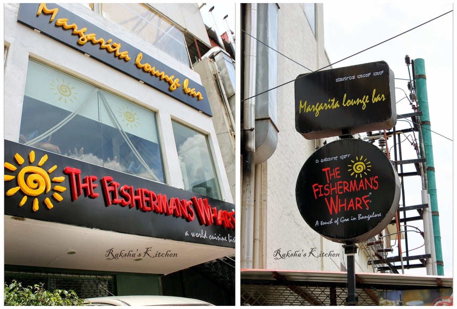 Fisherman's Wharf And Margarita Bar At Lavelle Road, Bangalore - A Review