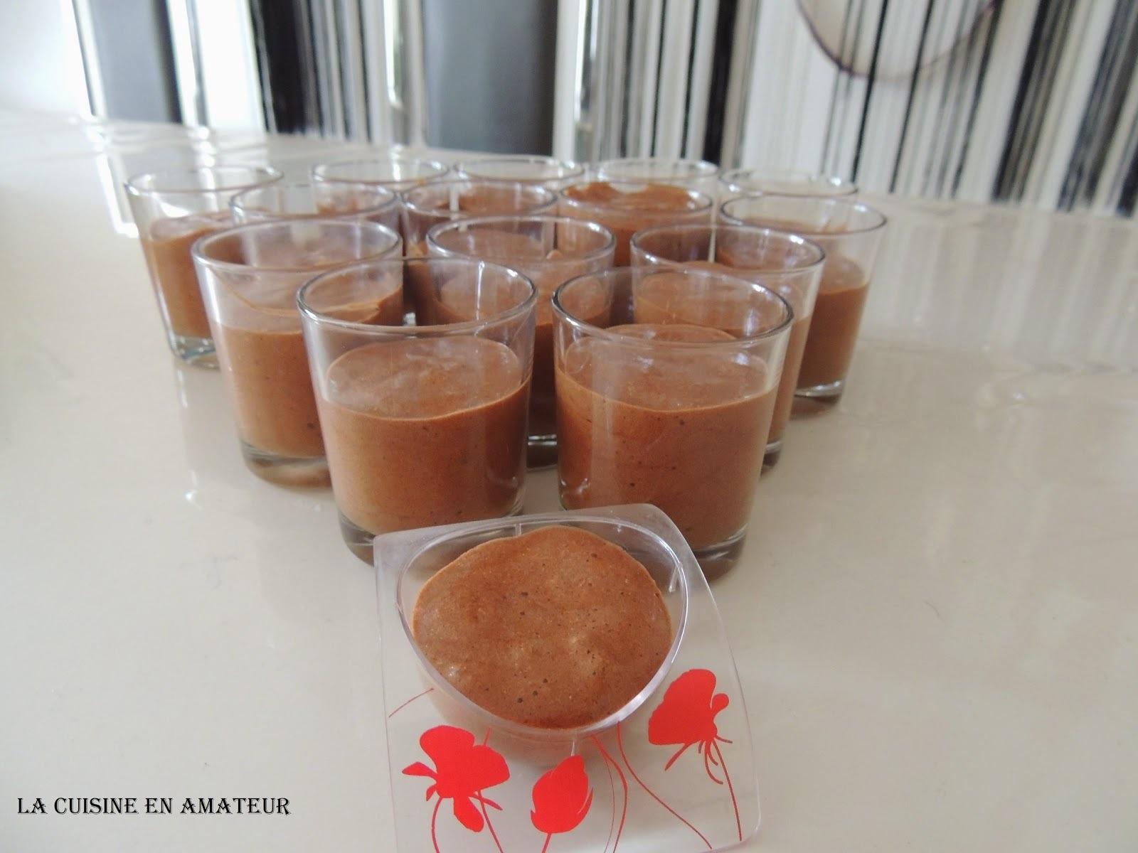 Mousse chocolat carambar