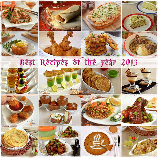 Best Recipes of the year 2013