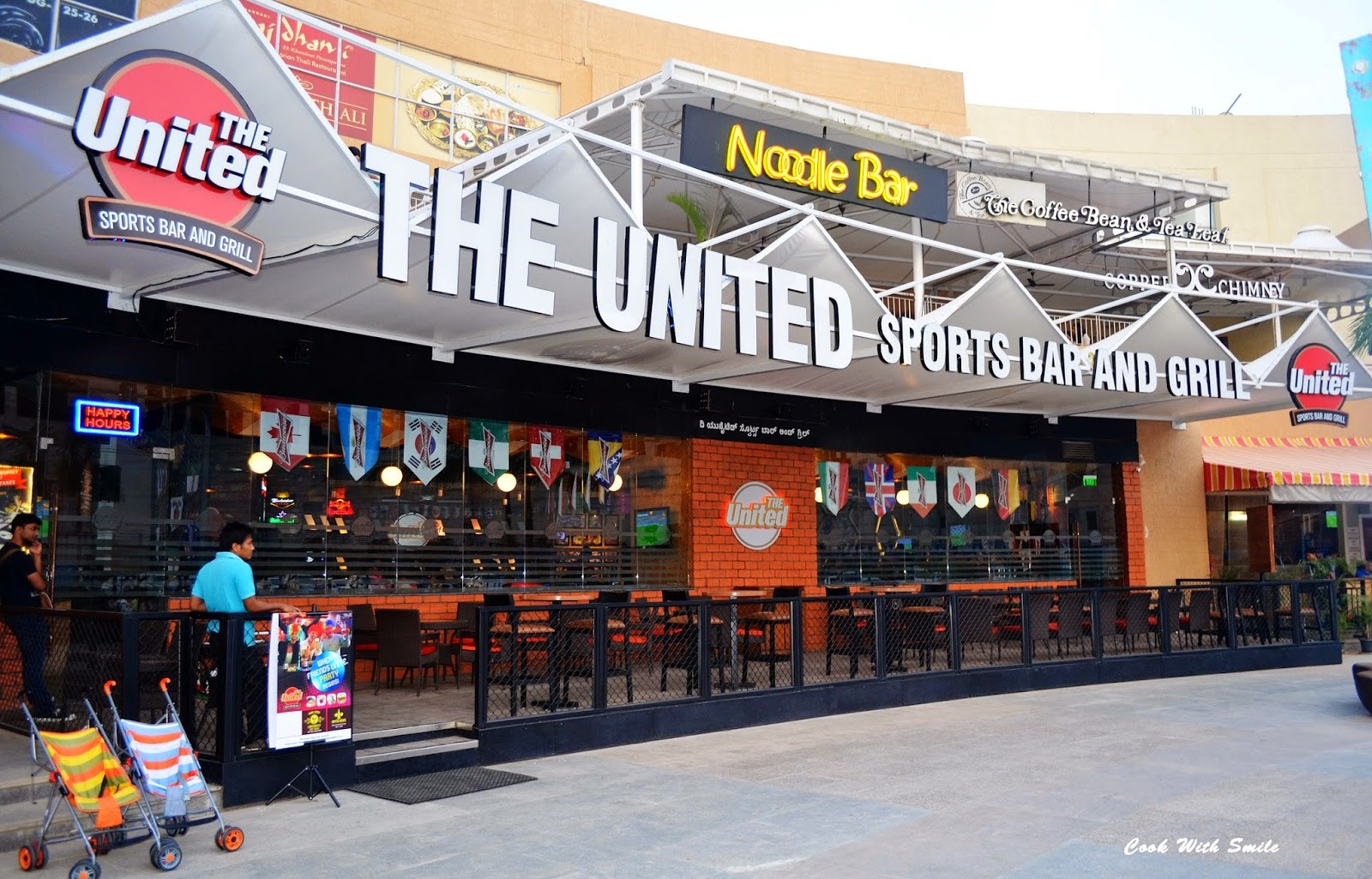 THE UNITED SPORTS BAR AND GRILL , BANGALORE - A REVIEW ...