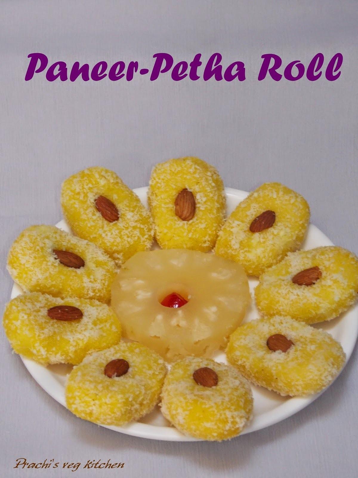 Paneer-Petha Roll