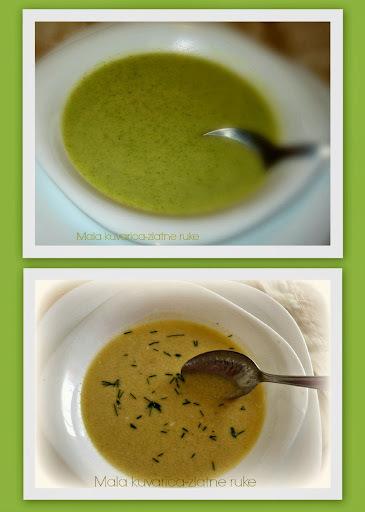 Krem supe s brokulom i tikvicama