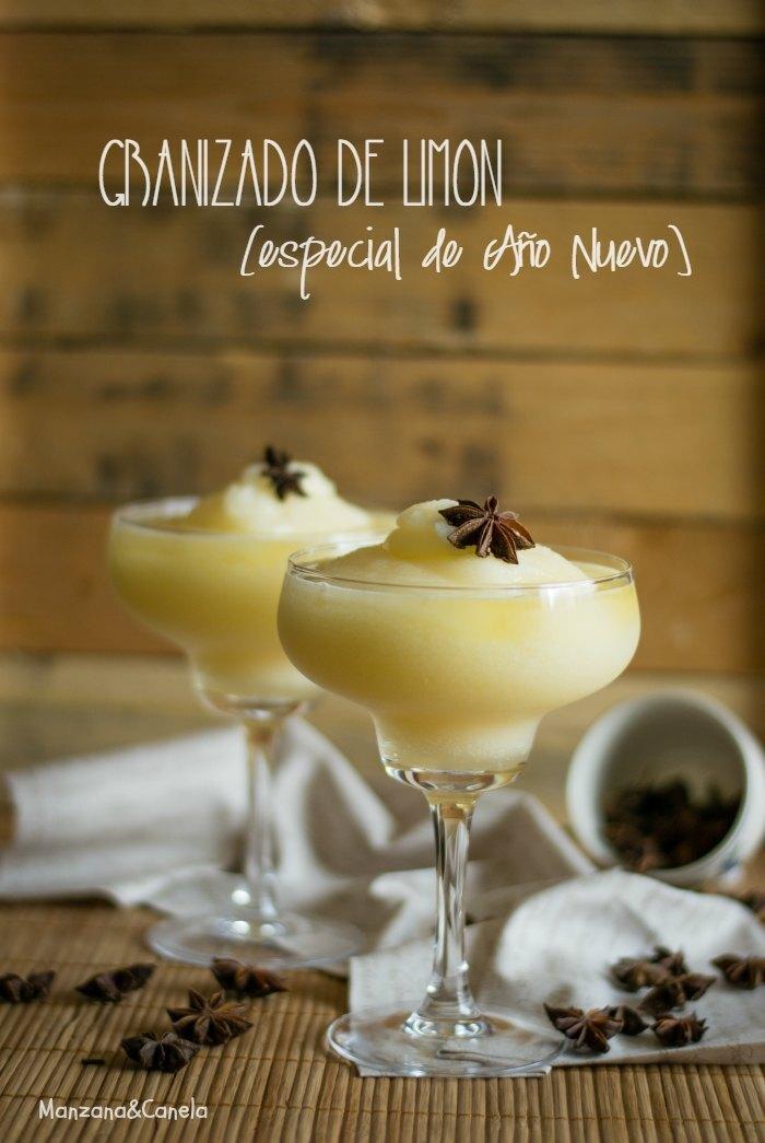 Granizado de limón especial para Año Nuevo