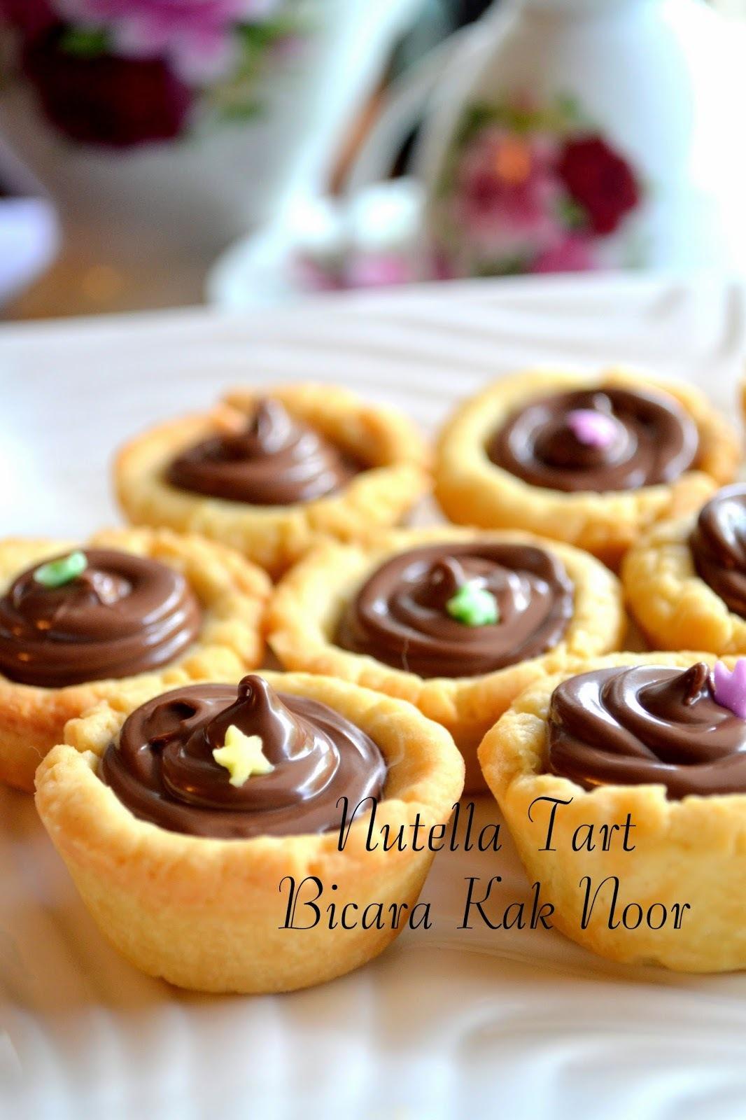 Nutella Tart yang Sangat Sedap Resepi Pinterest Lagiii..