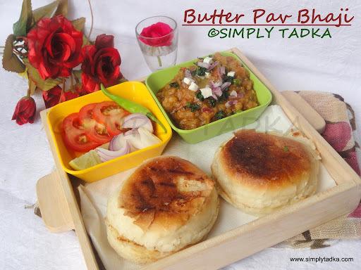 Butter Pav Bhaji