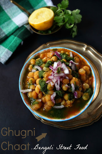 Ghugni Chaat, Bengali Street Food