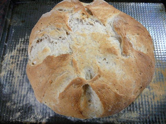 Pan con queso blanco o queso crema