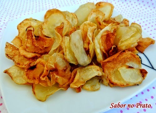 Batata Chips na AirFryer - Fritadeira sem Óleo