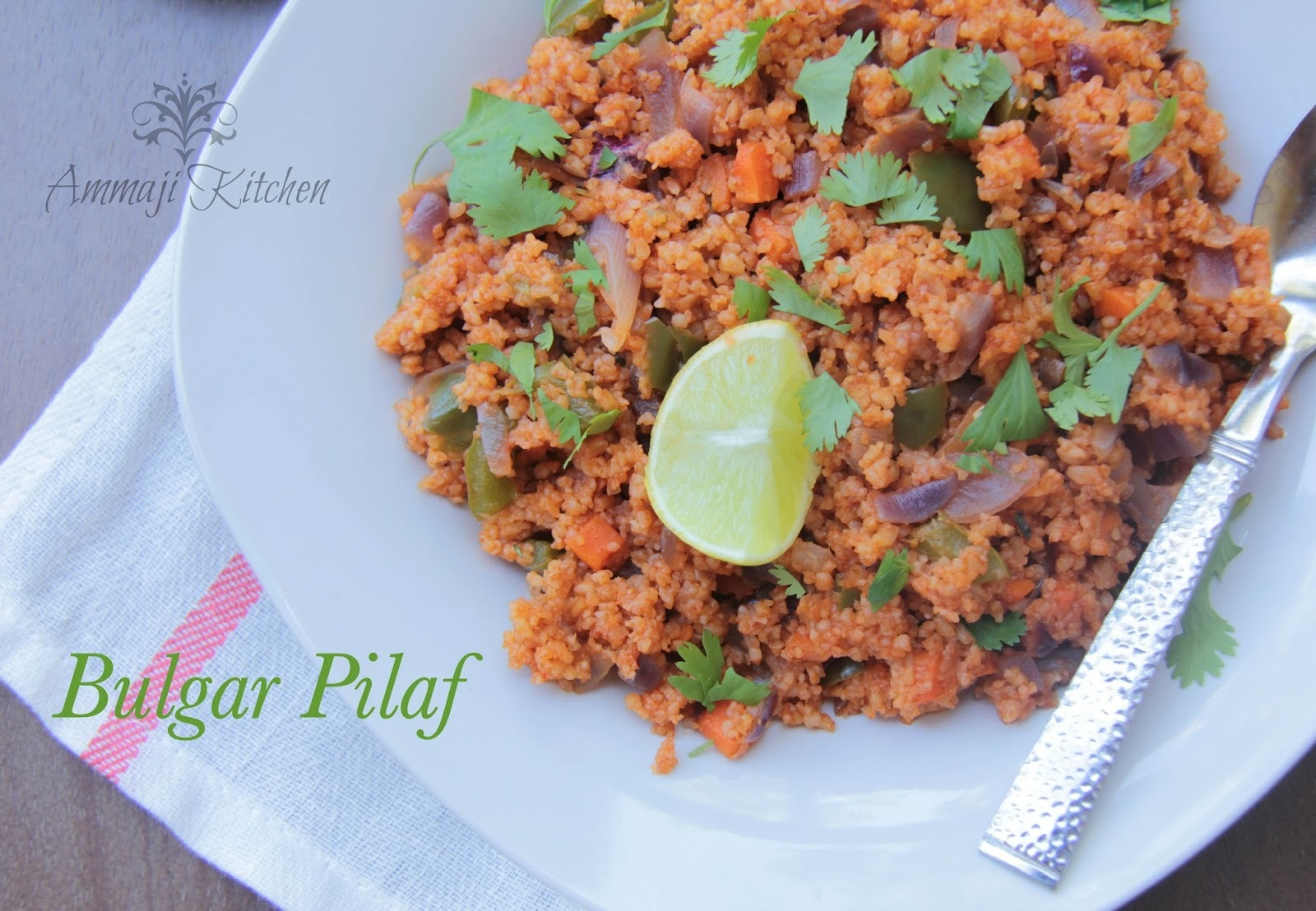 Bulgar Pilaf  ~ Turkish Dish