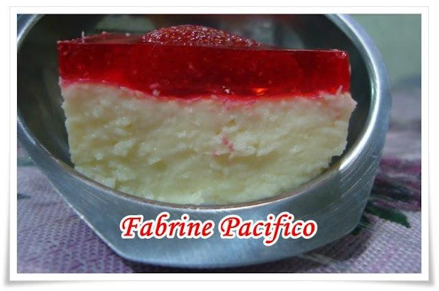 Delícia de morango: Fabrine Pacífico