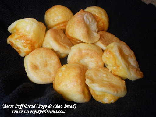 Cheese Puff Bread (Fogo de Chao Bread)