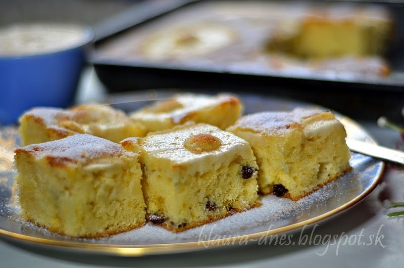 Taliansky  jablkový koláč.