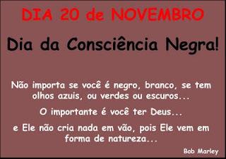 Dia Nacional de Zumbi e da Consciência Negra  20 de novembro