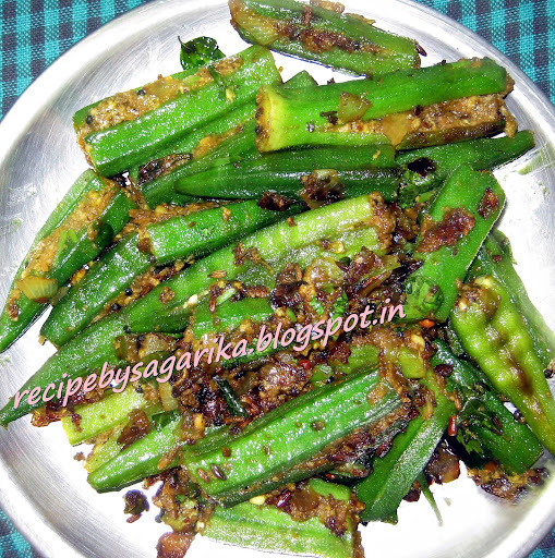 ZAIKEDAR PANEER STUFFED BHINDI (LADIES FINGER) RECIPE