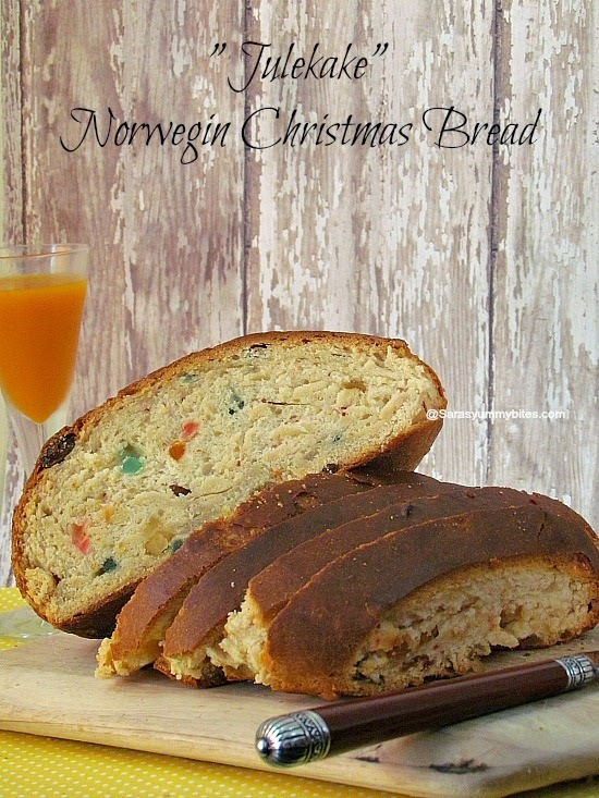 Eggless Julekake ~ Norwegian Christmas Bread For Baking Eggless Challenge
