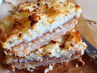 Eggless Danish cake