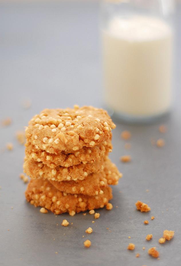 Galletas de Quinoa y Coco