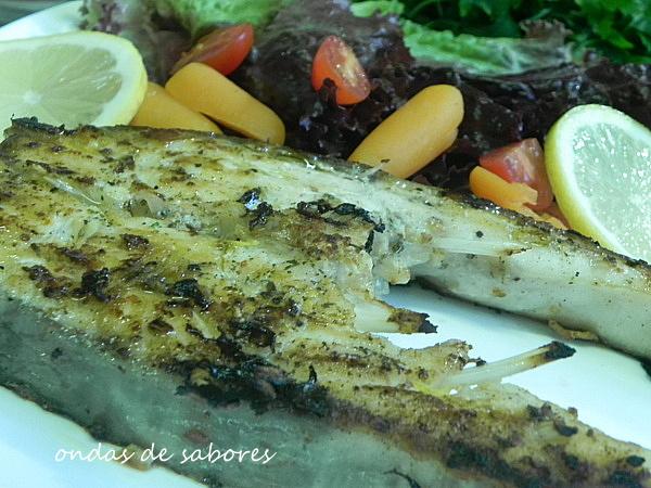 Peixe Grelhado... rápido e saudável