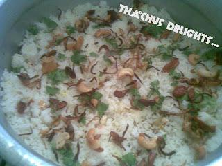 Malabar Prawns Biriyani Recipe
