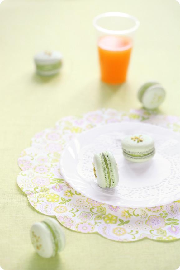 Фисташковые макаронс / Macarons de pistáchio