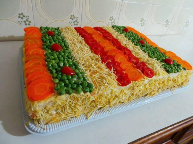 torta de ricota com cenoura salgada light